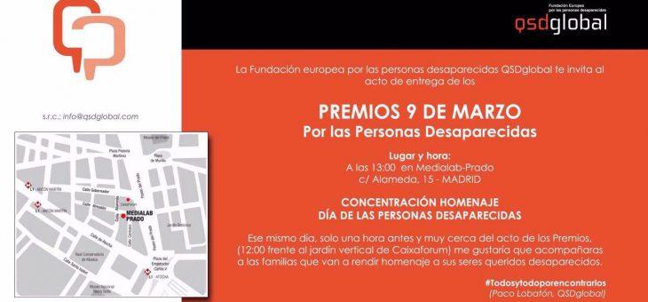 Primer encuentro nacional Día de las personas desaparecidas, 9 de Marzo