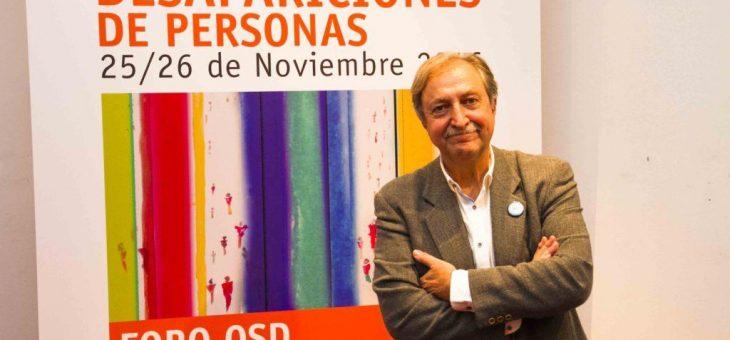 """Paco Lobatón: """"Los desaparecidos son una realidad latente, oculta e ignorada"""""""