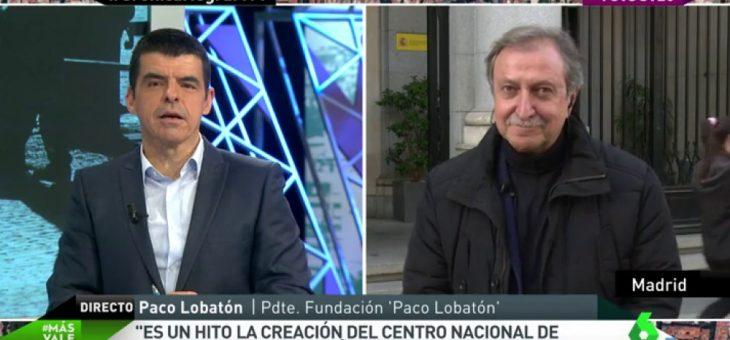 """Paco Lobatón: """"La creación del Centro Nacional de Desaparecidos es un hito; en 25 años no se hizo nada"""""""
