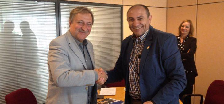 Unijepol suscribe un Acuerdo de Colaboración con Paco Lobatón