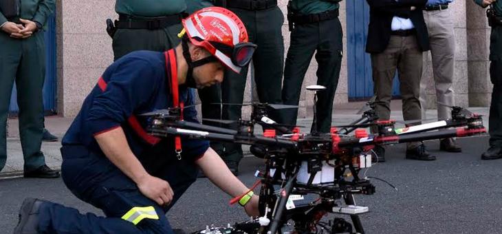 Drones para buscar desaparecidos