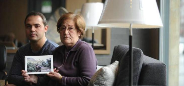 La familia de Borja Lázaro pide a Exteriores que intensifique la búsqueda del vitoriano desaparecido