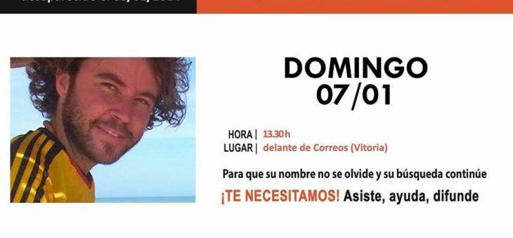 QSDglobal asistirá a la Concentración por Borja Lázaro cuando se cumplen cuatro años de su desaparición