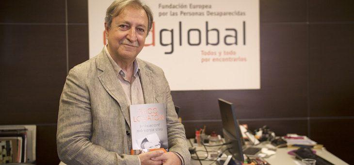 Paco Lobatón presenta 'Te BuscaréMientras Viva' en las Ferias del libro de Galicia