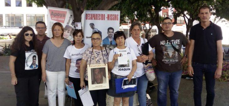RECOGIDA DE FIRMAS PARA SOLICITAR MÁS Y MEJORES MEDIOS ANTE LAS MÁS DE 12.000 PERSONAS DESAPARECIDAS
