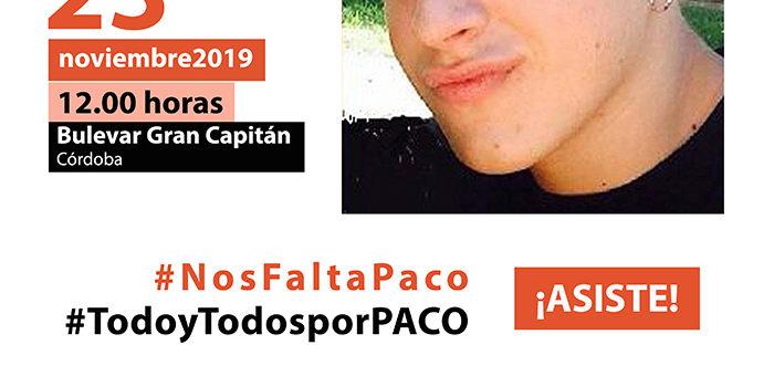 Ni silencio ni olvido | Todos por Paco Molina | 4 AÑOS DESAPARECIDO