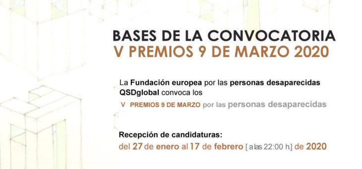 V PREMIOS 9M | BASES DE LA CONVOCATORIA